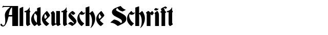 Altdeutsche Schrift Download