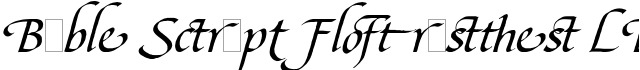 Bible Script Flourishes LET Plain:1.0