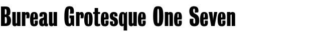 Free neo grotesque fonts for Bureau grotesque