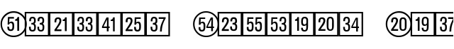 Catalog Numbers