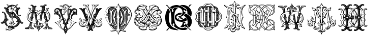 Intellecta Monograms Random Samples Three