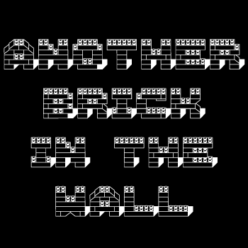 Free Lego Brick Font Generator
