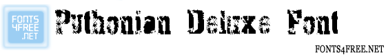 Pythonian Deluxe Font