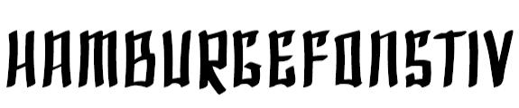 Free Europa Grotesk SH Bold Extd Fonts