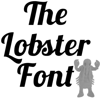 The Lobster Font