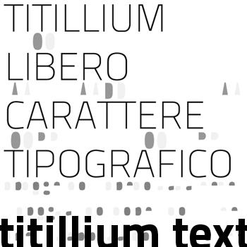 titillium maps 29l font