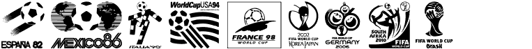 World Cup logos